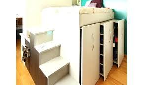 lit mezzanine avec bureau et rangement lit mezzanine avec rangement lit en lit mezzanine dressing s flag
