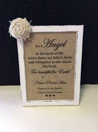 baby remembrance gifts baby loss memorial lost angel framed quote stillbirth