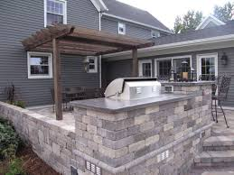 Pergola Kitchen Outdoor by Outdoor Kitchens And Landscape Design In The Fox Cities