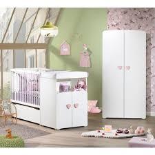 ensemble chambre bébé pas cher pack promo ensemble lit bébé combiné 60x120 cm évolutif en 90x190 cm