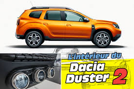 renault duster 2018 dacia duster 2018 l u0027intérieur du nouveau duster 2 en images l