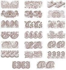 floriani embroidery design collection for paisley borders
