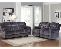Charcoal Living Room Furniture Reclining Sofa Set Laurelton By Homelegance El 9636cc Set