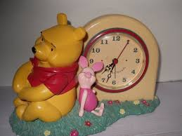 Battery Operated Desk Clock 23 Best Piglet Clock Images On Pinterest Piglets Pooh Bear And