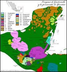 Belgium Language Map Mapa Lingüístico De Guatemala Y La Peninsula De Yucatan History