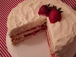 23 best white cake w strawberry filling images on pinterest