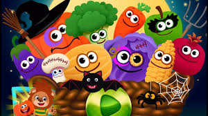 learn foods for kids fun halloween foods games for preschool