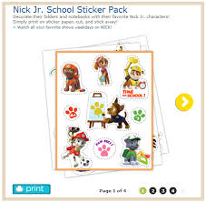 http www nickjr printables nick jr stickers jhtml