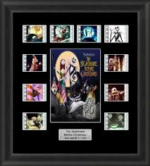 the nightmare before mounted framed 35mm cell