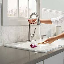 kitchen faucets touchless kohler malleco touchless pull kitchen faucet with soap