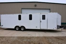 V Nose Enclosed Trailer Cabinets by Collector Cars Car Hauling Trailer Motorcycle Hauler Ice