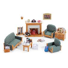 Calico Critters Deluxe Living Room Set International Playthings - Sylvanian families living room set