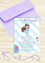 mermaid baby shower mermaid baby shower invitations christmanista