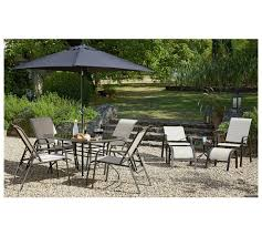 metal patio table and chairs buy home sicily 11 piece adjustable metal patio set garden table