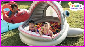 thanksgiving and kids babies and kids family fun shark pool time with color balls