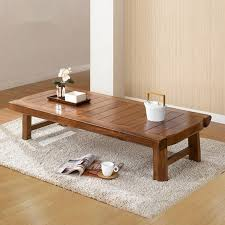 antique centre table designs asian furniture japanese style floor low foldable table 130 60cm