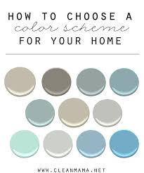 how to choose a color scheme for your home clean mama and
