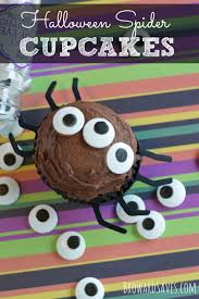 Spider Halloween Cakes by Halloween Spider Cupcakes Living Sweet Moments