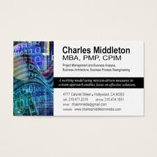 Business Card Measures Cyber Tech 1 Business Card Template White Blue Zazzle Com