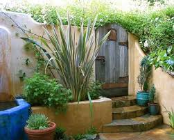style courtyards mexican style garden designs and yard landscaping ideas yard