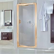 Pivot Shower Door 900mm Aqata Exclusive Es240 Pivot Shower Door In Gold