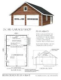 2 car garage plans with loft free garage plans littleplanet me