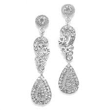silver dangle earrings for prom 226 best wedding prom or casual earrings images on