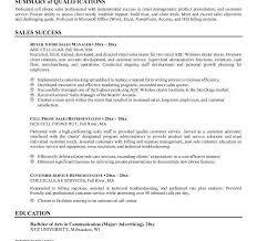summary sample for resume lukex co