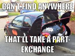 Auto Meme - can t find anywhere funny car meme image