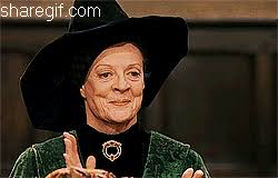 Clapping Meme - applause harry potter clapping minerva mcgonagall funny gifs