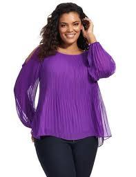 purple blouse plus size tones gwynnie bee