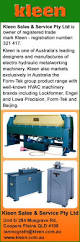 Woodworking Machinery Services Australia by Kleen Sales U0026 Services Pty Ltd Sheet Metal Machinery Unit 5