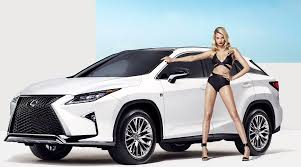 lexus rx 350 for sale sarasota lexus teams up with hailey clauson for sports illustrated ad