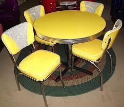 Yellow Retro Kitchen Chairs - 216 best vintage kitchen tables images on pinterest retro