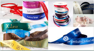 personalized satin ribbon 100 yard lot 1 4 2 6mm 50mm many color personalized satin