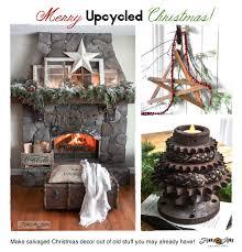 merry unique decorating upcycled style ebay