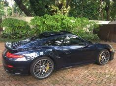 porsche dark blue metallic porsche 991 turbo s dark blue metallic w gmg lowering springs