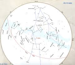 Constellations Map Observation Page For Physics 55