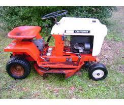 vintage sears craftsman riding mower is a lawn garden u0026 patios