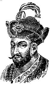 mughal ruler coloring pages babur coloring page mughal ruler