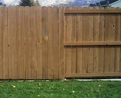 commercial wood fences