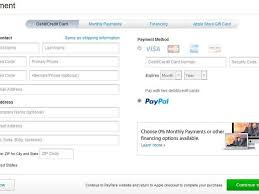 apple store now lets you buy items via paypal cnet