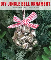 how to make this diy jingle bell ornament and 100 diy