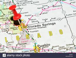 Fort Carson Map Map Of Colorado State Stock Photos U0026 Map Of Colorado State Stock