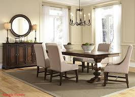 liberty dining room sets liberty furniture armand rectangular trestle dining table in antique