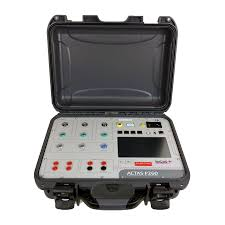 kocos actas p260 portable switchgear test system hire inlec uk