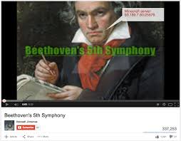 Beethoven Meme - beethoven s minecraft server youtube know your meme