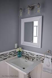 Diy Powder Room Remodel - budget powder room reveal orc week 6 builder grade powder room