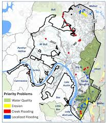Austin Flooding Map by District 10 Watershed Profile Watershed Protection Austintexas