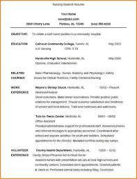 nursing student resume nursing student resume exles resume cover letter